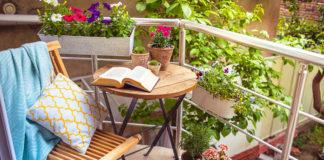 10 roślin na zacieniony balkon