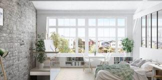 Metamorfoza pomieszczenia za pomocą tapety